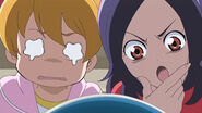 Setsuna realize that Tarte eating ice cream