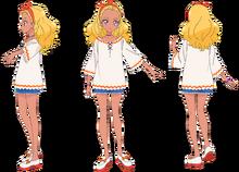 Elena Casual Profile Toei