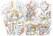 Bocetos de Mizushitatare