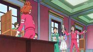 45. Haruka volviendo a realizar su ensayo