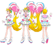 Cure Summer 2nd Profile Toei