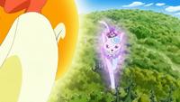 KKPCALM40-Macaron riding crystal cat