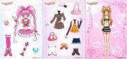 Melody y hibiki y ropa
