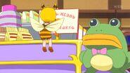 Chikurun leyendo un letrero