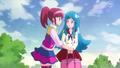 Megumi diciendole que definitivamente la salvaran, y que reuniran todas las cartas para hacer realidad su deseo