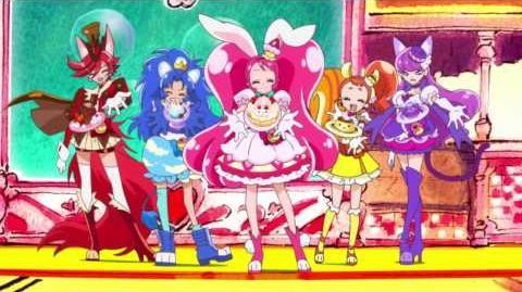 【キラキラ☆プリキュアアラモード】オープニング_「SHINE!!_キラキラ☆プリキュアアラモード」_(歌:駒形友梨)