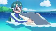 Minami y su amiga delfín Tina (GPPC16)