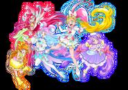 Segunda Portada Tropical-Rouge! Pretty Cure