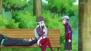 El trio egoista en el parque
