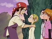 Akane preocupada por hikari