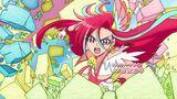 Viva! Spark! Flamingo in battle