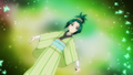Komachi Metamorphose in Edo clothes