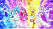 1080p Healin' Good Pretty Cure Group Transformation 2