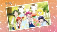 Foto de las chicas con las Maiko-san