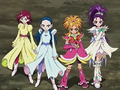 Cure Bloo Cure Egret Cure Bright Cure Windy