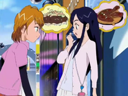 Nagisa honoka hablan comida