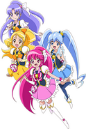 Perfil Happiness Charge Festial Pretty Cure