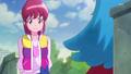 Megumi diciendole que tiene razon