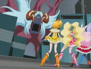 Las Pretty Cure frente a Northa