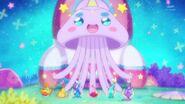 Prunce transformado en una medusa