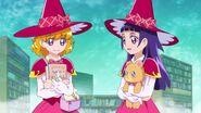 Riko y Mirai capturan la ultima mariposa