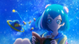 Sparkle Lala reading her book