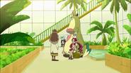 Tsubomi y Erika le cuentan a Kaoruko lo sucedido en la escuela