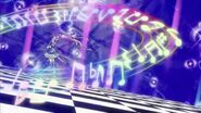 Cure Beat tocando la melodía de Sory