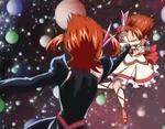 Cure Rouge v.s. Dark Rouge