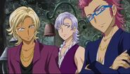 El Trio Mayor se da cuenta de que son las Pretty Cure