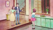 Nodoka le pregunta a sus padres si puede quedarse con Latte