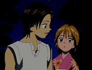 Fujip reconforta a nagisa