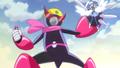 Princess liberandose con ayuda de sus alas
