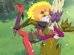 FwPCSS41 Moerumba hugs Karehan