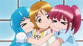 Hime y megumi quieren ir con Yuyu