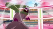 El Megabyougen contraataca a Fountaine