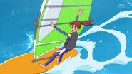 Asuka sailing in