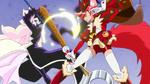 KKPCALM48-Chocolat attacks Elisio with her sword