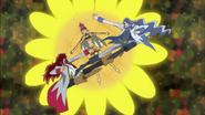 Kumojaki y Cobraja tratan de liberar a Sasorina
