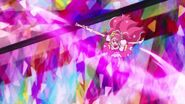 Grace lanza un rayo en forma de filo