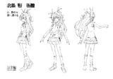 Hibiki Model Sheet