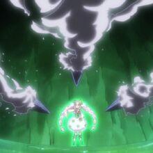 Cure Felice a punto de detener los ataques del Yokubaru.jpg