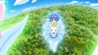 KKPCALM40-Gelato riding crystal lion
