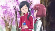 Chiyu habla con Nodoka