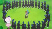 Seiji y Hime rdeados por loschoiarks