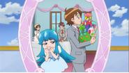 Deep Mirror mostrando la fiesta de Megumi