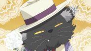 54. Gato negro vestido de gala