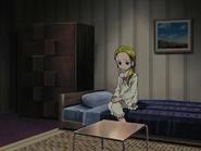 Hikari preocupada habitación
