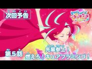トロピカル~ジュ!プリキュア 第5話予告 「先輩参上! 燃えろ!キュアフラミンゴ!」