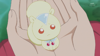 KKPCALM35-Crystal squirrel listening to Himari